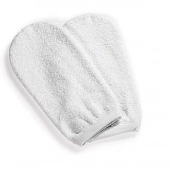 Par de guantes de toalla...