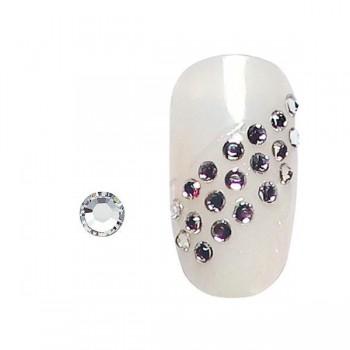 20 strass para uñas plata SS5
