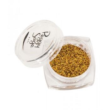 Purpurinas para uñas gold rush