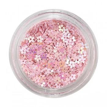 Purpurinas para uñas pink...