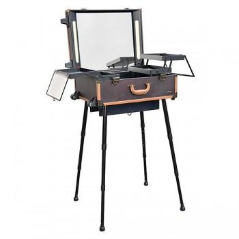 Mesa de maquillaje portátil