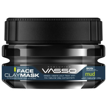 VASSO FACE MASK CLAY 250ML